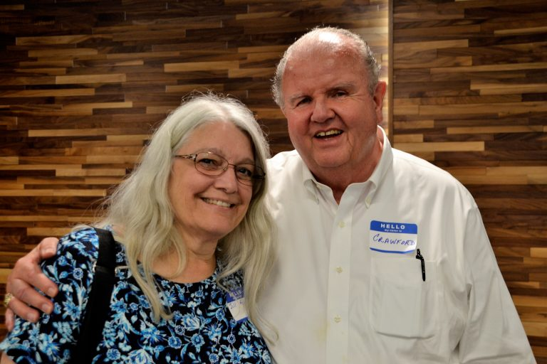 Jill Adams with Crawford Taylor