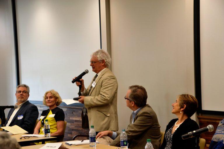 Kramer at panel discussion 2