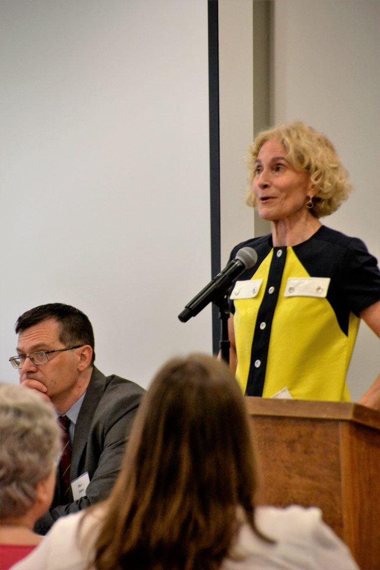 Martha Nussbaum speaking