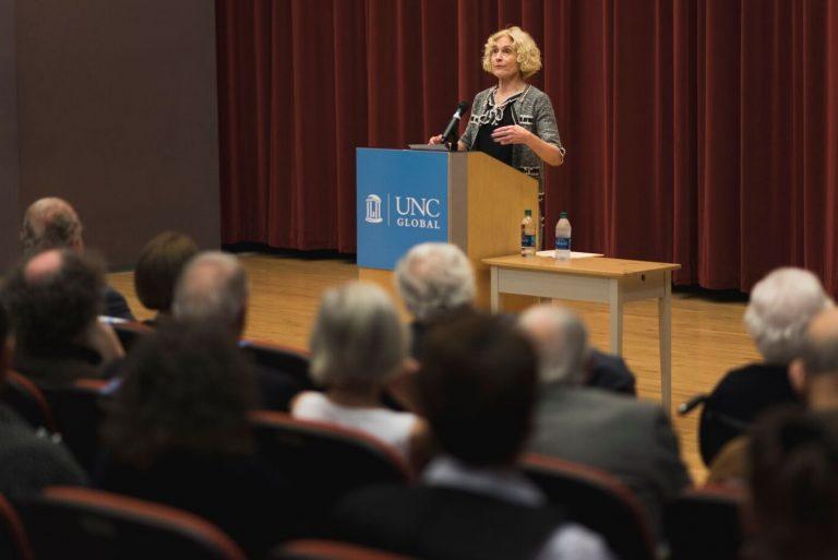 Nussbaum speaking