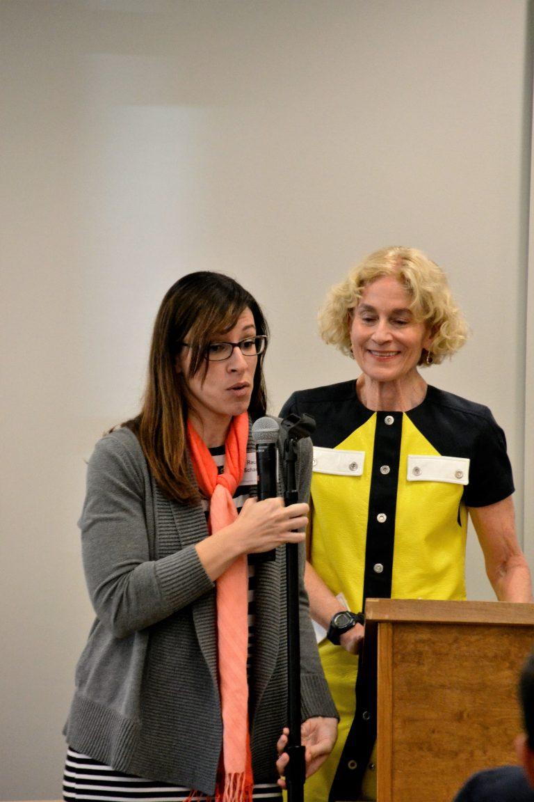 Rachel Schaevitz with Nussbaum