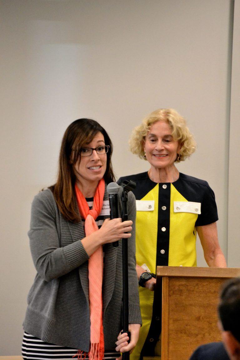 Rachel Schaevitz with Nussbaum 2