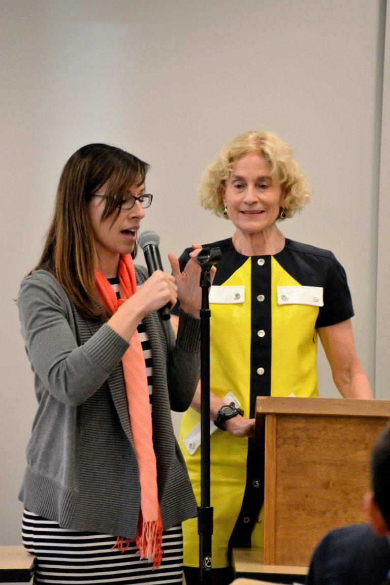Rachel Schaevitz with Nussbaum 3