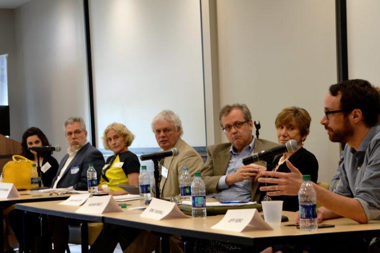panel discussion with Nussbaum 1