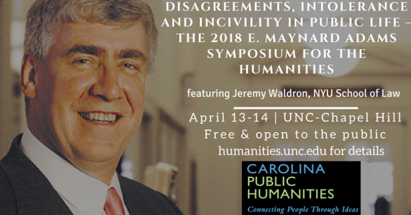 2018 Maynard Adams SYmposium for the Humanities