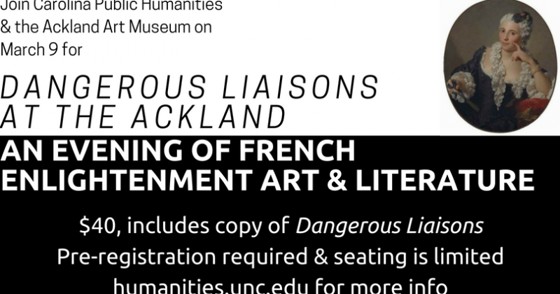 Dangerous Liaisons at the Ackland (2)