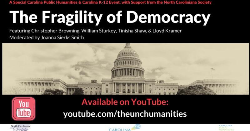 youtube fragility of democracy